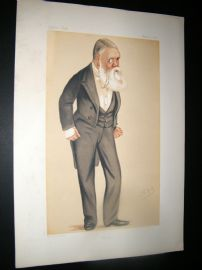 Vanity Fair Print 1876 Tom Taylor, Newspaperman